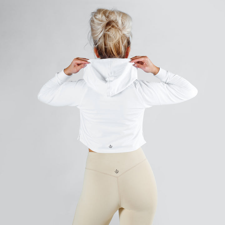 Core Cropped Hoodie