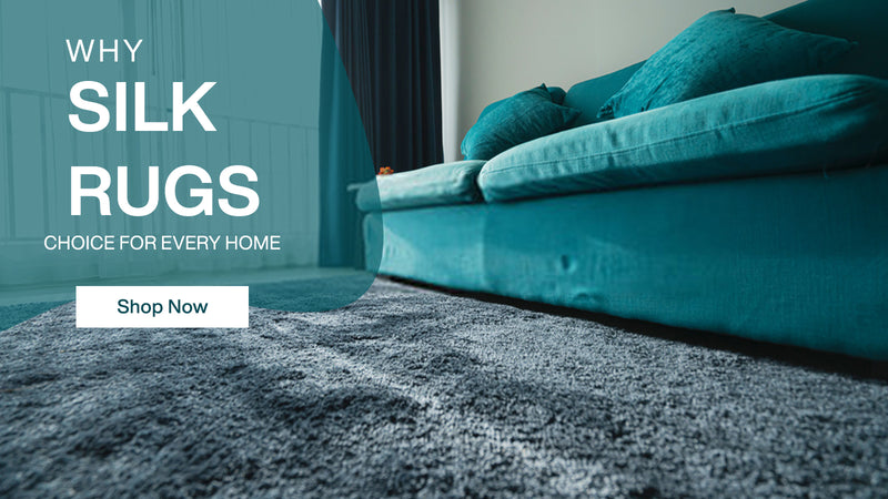 Silk Rug#https://www.rugknots.com/collections/wool-silk-rugs