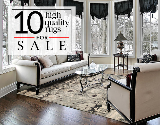 10 High Quality Rugs for Sale Blog Header