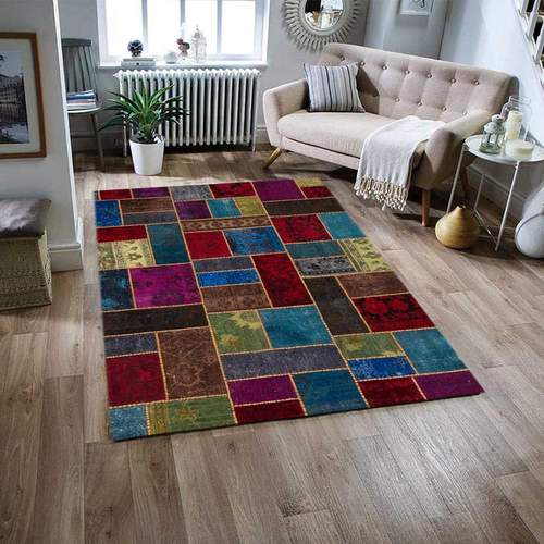 What are Persian rugs made of