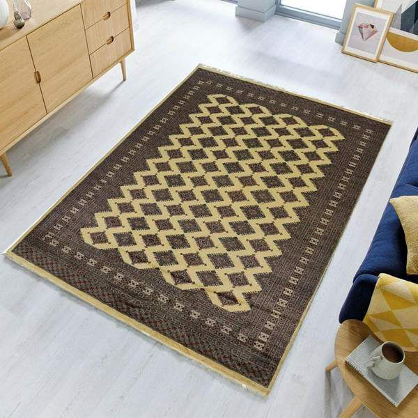 How To Decorate With Large Rugs