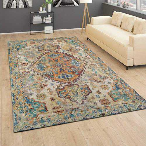 How to get old cat poop and vomit smell out of washable rugs?