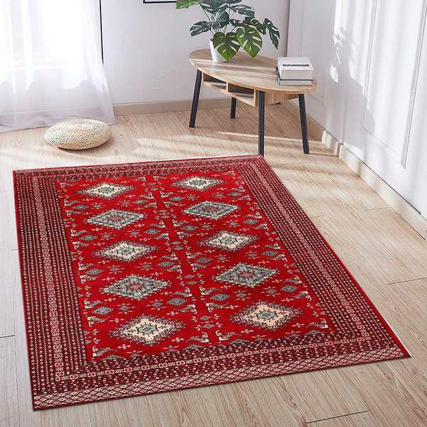 Placement of an 8x10 Area rug