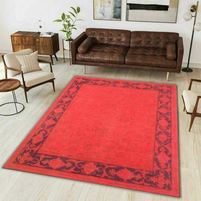 Pink Overdyed Area Rug