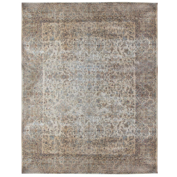 Neutral Vintage Persian Rug