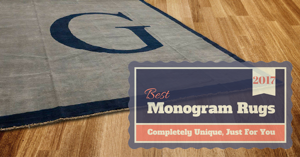 2017s Best Monogram Rugs Blog Image