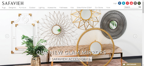 safavieh website