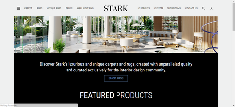 Stark Carpet Website