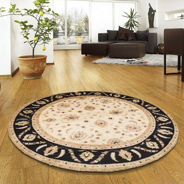 Round rugs in the Small Room