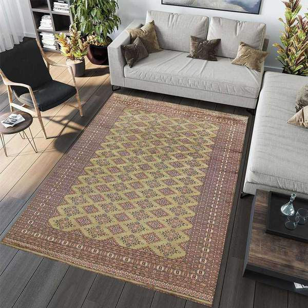 Tip 1: Use an area rug to define a room's space