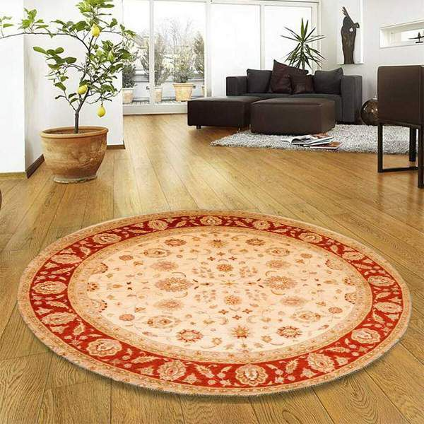 Round rugs in Play Areas