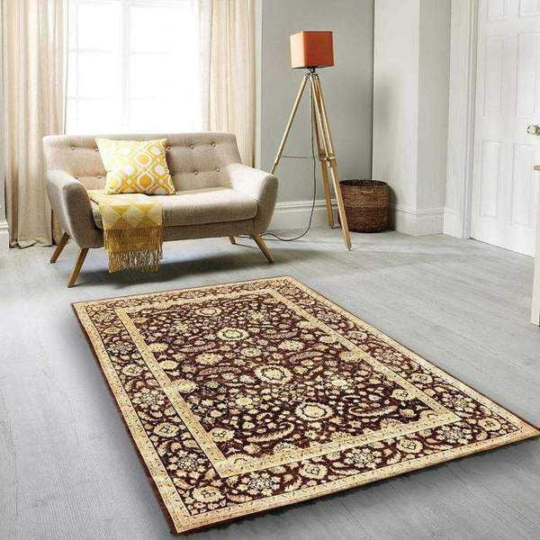 Your Rug has a Hard Plastic Back