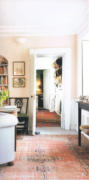 Picture from Romantic Irish Homes, by Robert O'Byrne, and photography Simon Brown. The Drawing Room - Higginsbrook House,: