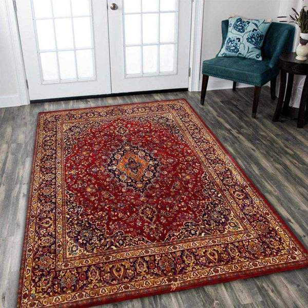 Red Persian Area Rug