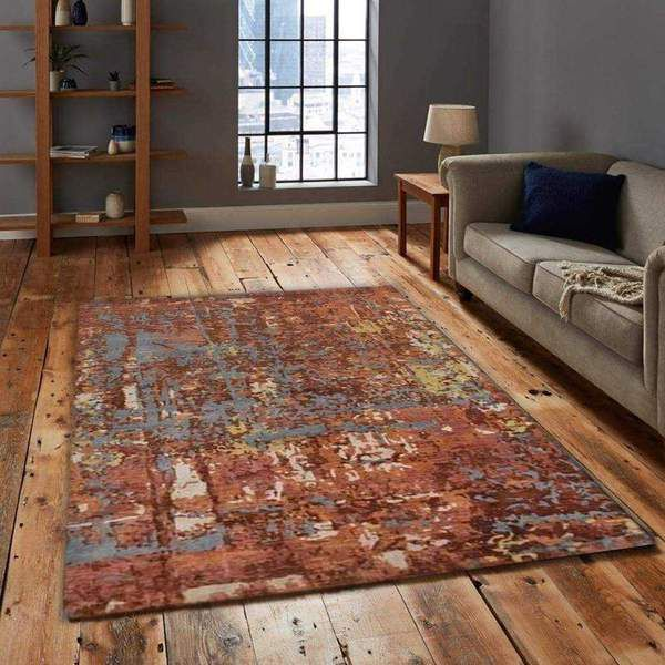 These are a few popular materials used in synthetic rugs: