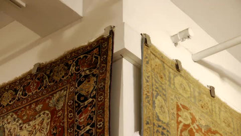 how to hang an oriental rug-without damaging it! | rugknots |