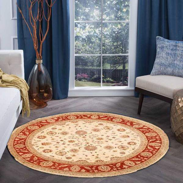 Where are Round Rugs Used?