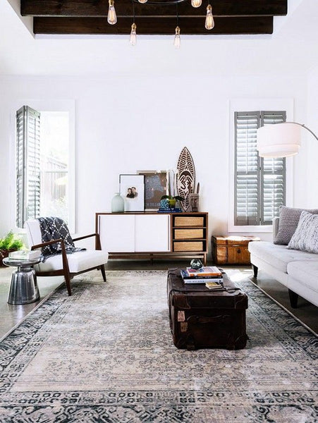 Modern Furniture With Oriental Rug traditional rugs and modern rugs: which is best? – rugknots |