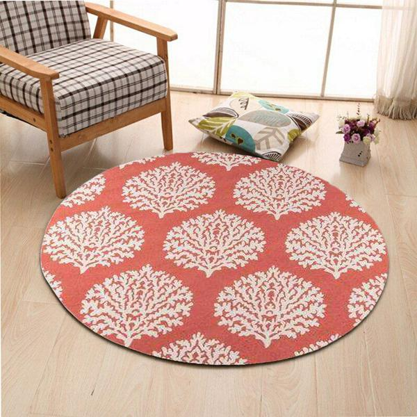 Coral Southwestern Area Rug