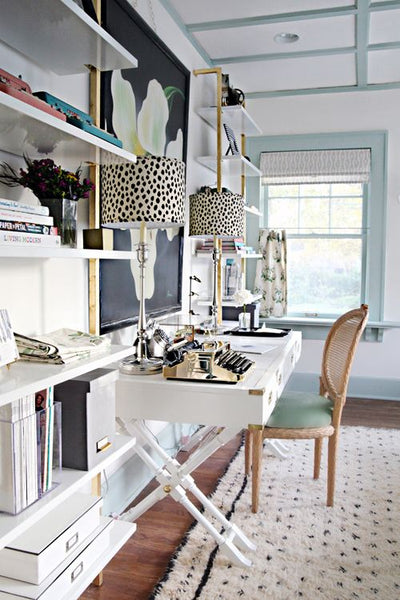IHeart Organizing: A Storied Style: Home Office / Guest Room Makeover Part 2 - The Reveal!: