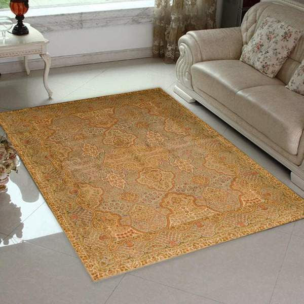 Gold Persian Area Rug