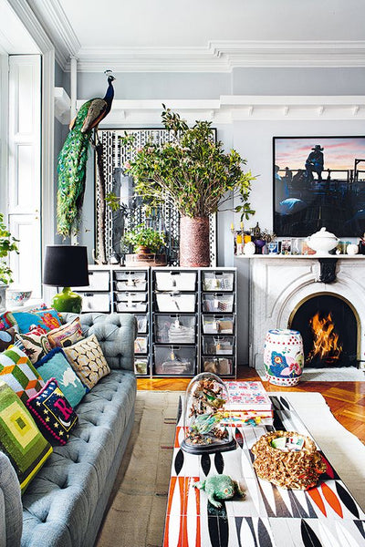A Worldly Affair nterior designer Rodman Primack's West Village apartment:
