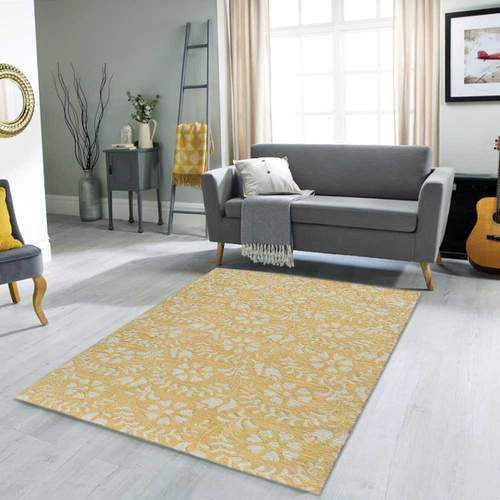 Yellow Transitional Area Rug