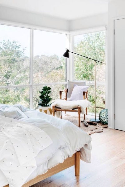 white bedroom