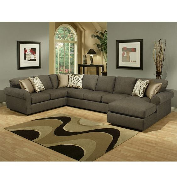 small+living+room+arrangements+for+sectional | Sofa Living Room Furniture | Brookstone | Sofa Sectional Living Room ...: