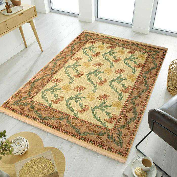 Ivory Persian Area Rug