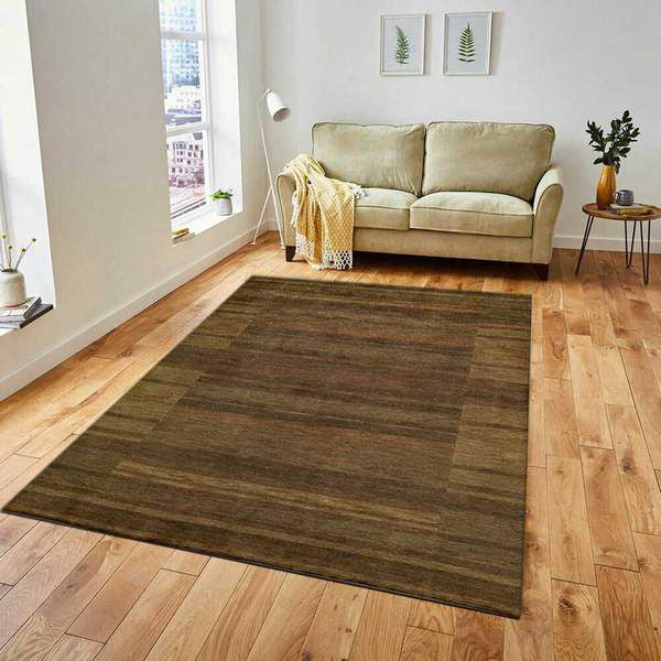 Brown Transitional Area Rug