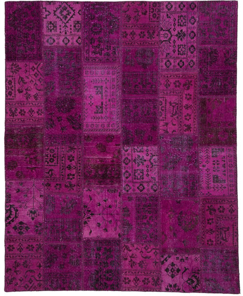 pink overdyed rug