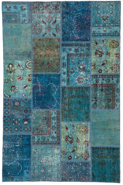 antique persian rug : overdyed rugs