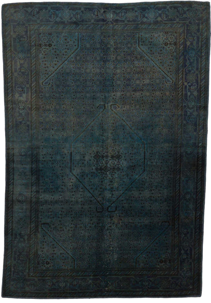 Overdyed Antique Rug Image