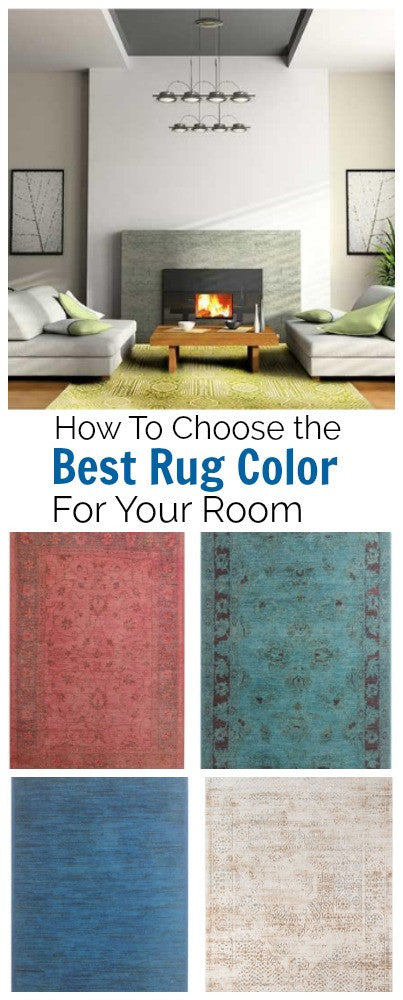 Tips On How To Choose The Best Rug Color For Your Space