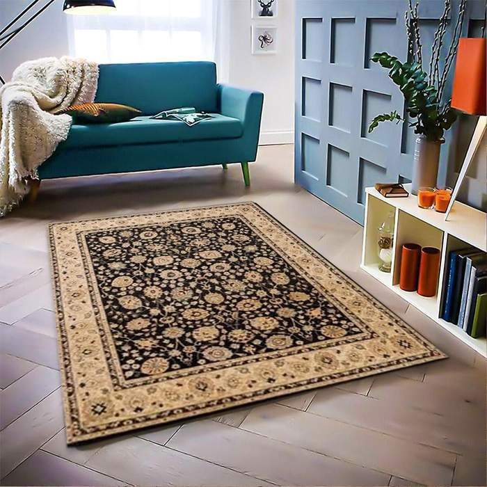Black Ziegler Area Rug