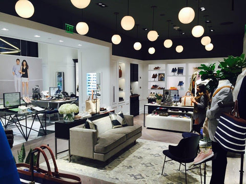 Cole Haan store with oriental rug