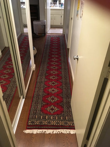 Custom-made bokhara runner rugs