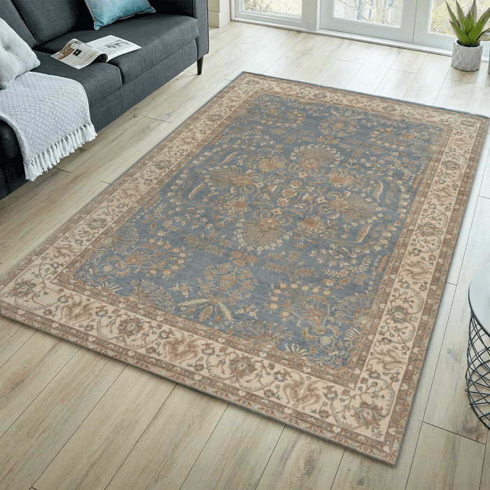 Grey Ziegler Area Rug