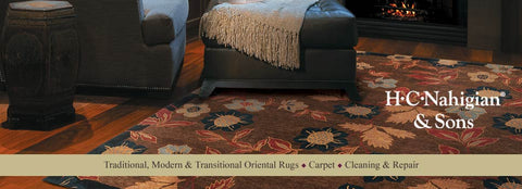 Oriental rug at HC Nahigian and Sons