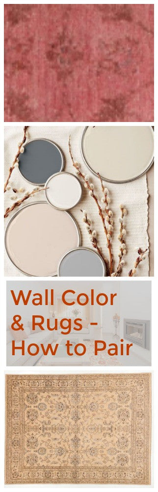 How to Pair Wall Color with Oriental Rugs
