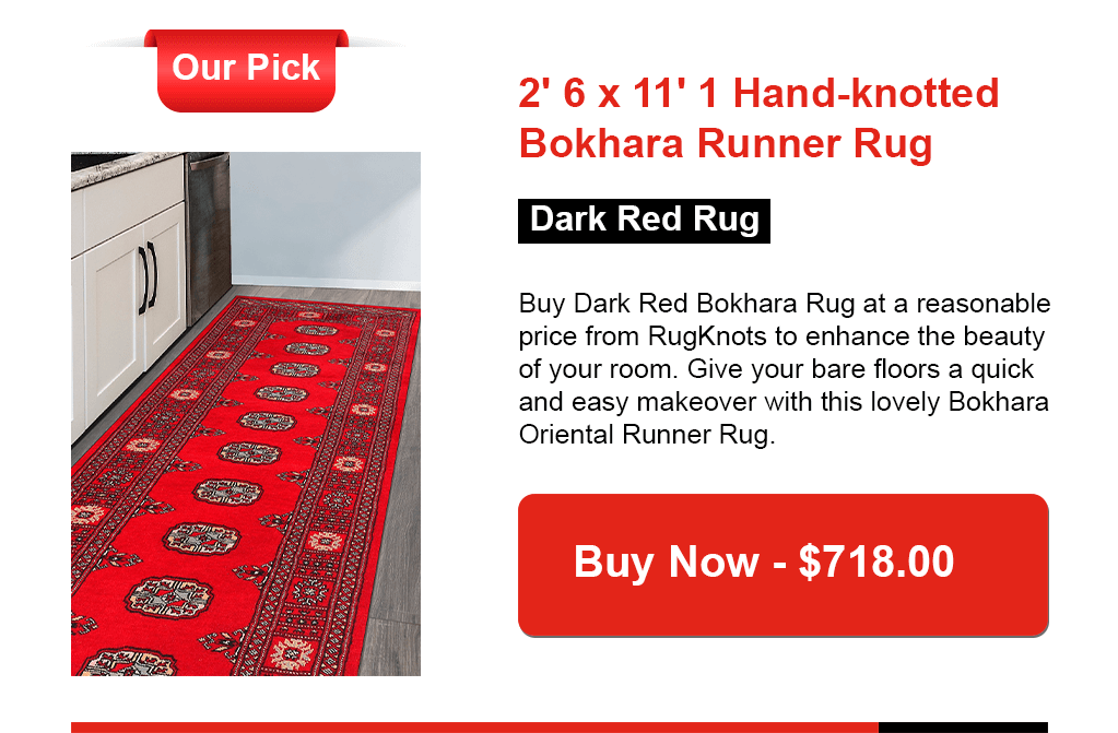 Red Runner Rugs - Rugknots