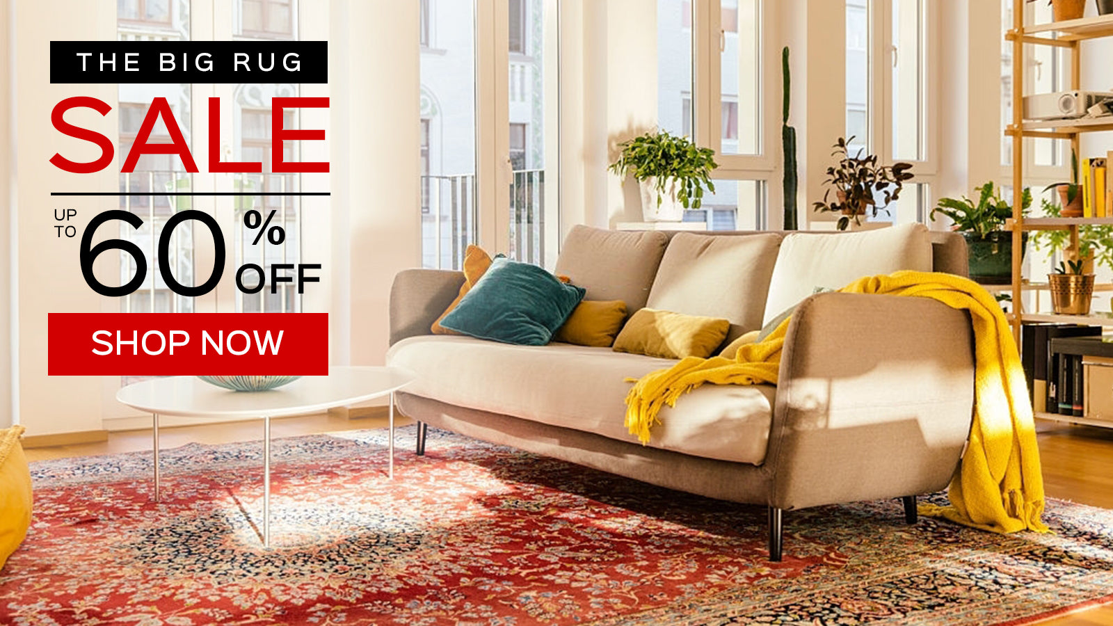 Red Persian Rug | The Big Rug Sale | 60% OFF