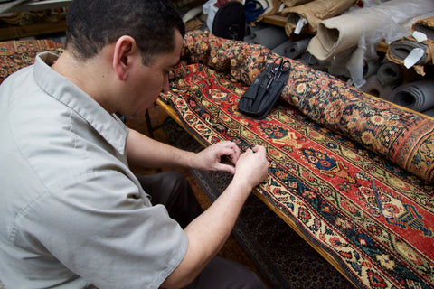 Professional rug cleaning services