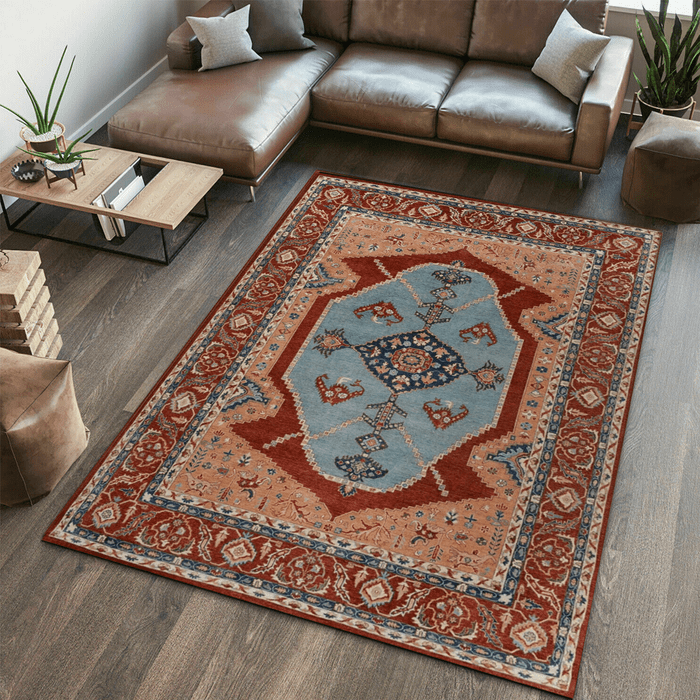 Multi Color Ziegler Area Rug