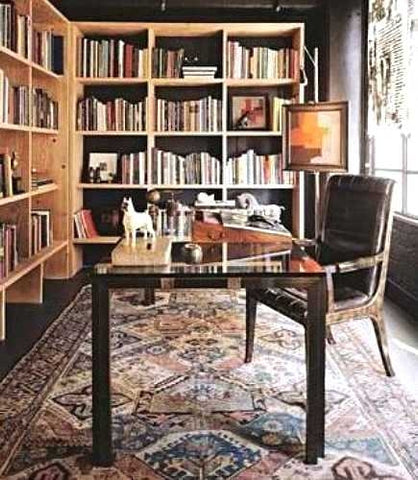 Beau Oriental Rug In Office