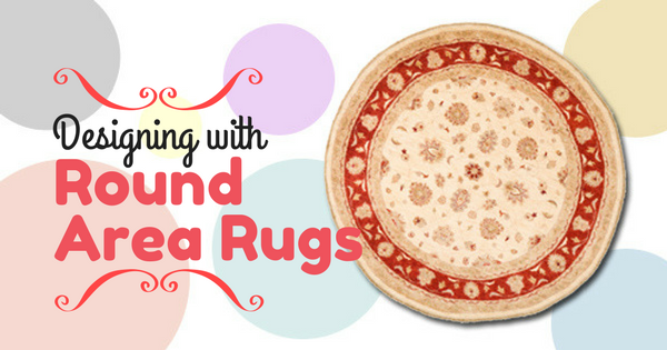 Designing with Round Area Rugs Blog Image