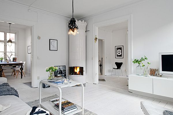 Walking into a scandinavian home is like taking a breath of fresh air