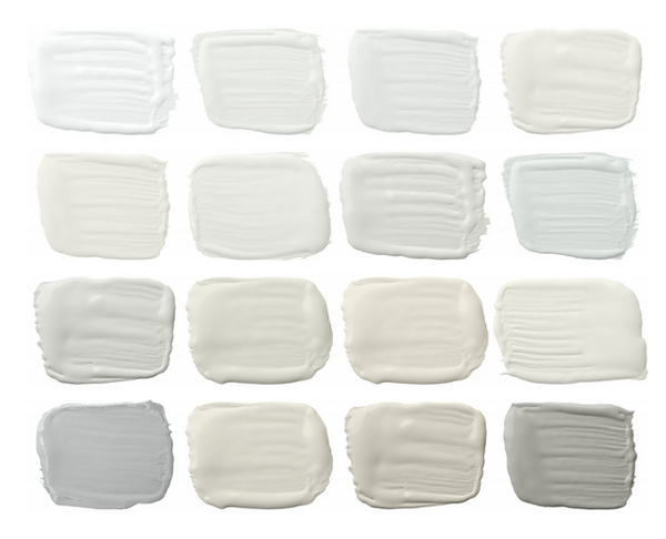 white swatches