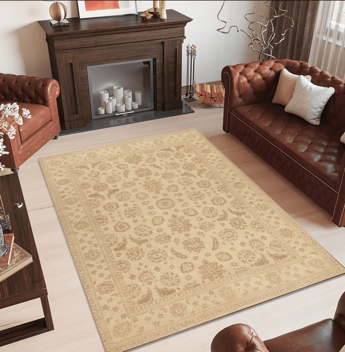 Tan Ziegler Area Rugs